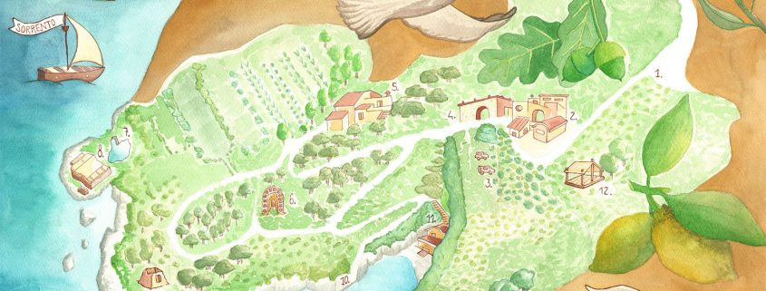 mappa relais regina giovanna